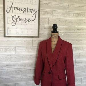 LeSuit career wear red blazer